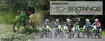 Picture of Micks bikes with a Link to his site
